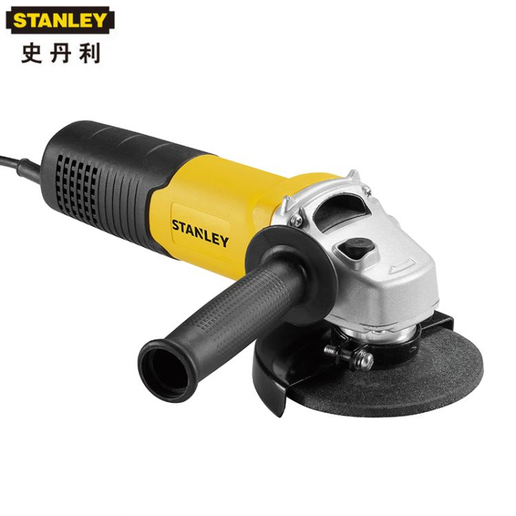STANLEY史丹利580W角磨机抛光切割打磨机100mm侧滑开关STGS5100