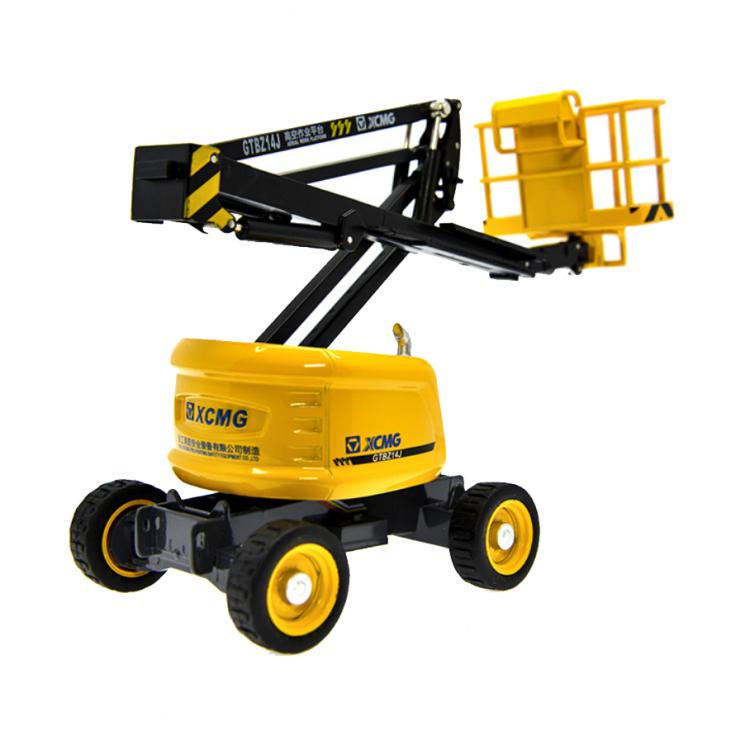 徐工 曲臂GTBZ14J 高空作业平台模型 1:35