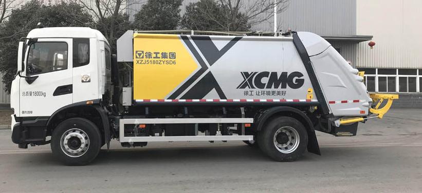 徐工集团XZJ5180ZYSD6-8吨后装式压缩车