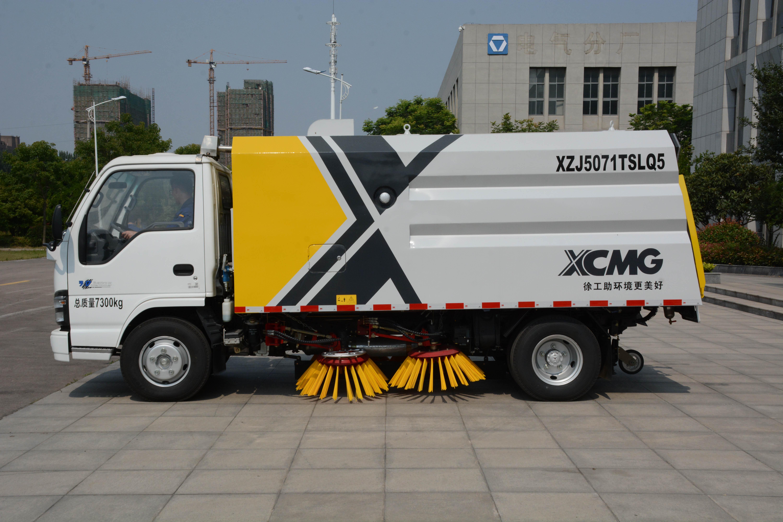 徐工集团XZJ5071TSLQ5-湿式扫路车