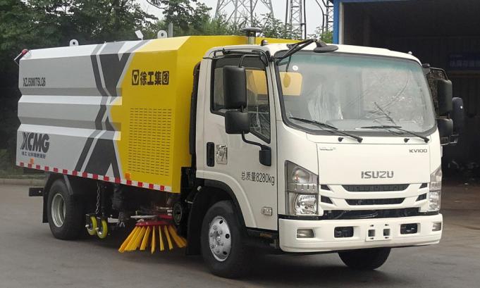 徐工集团XZJ5080TSLQ6-湿式扫路车
