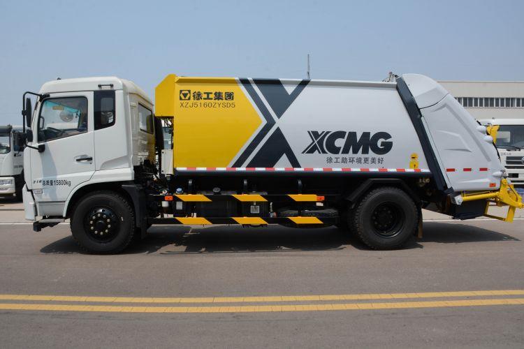 徐工集团XZJ5160ZYSD5-8吨后装式压缩车