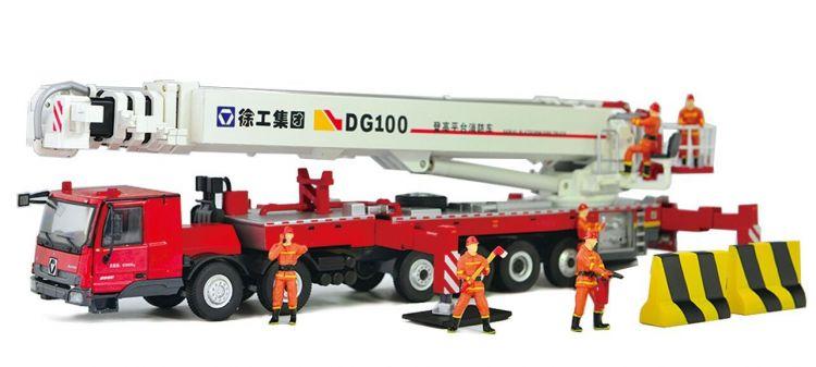 XCMG Official 100m Elevating Aerial Work Platform Fire Truck DG100 for sale