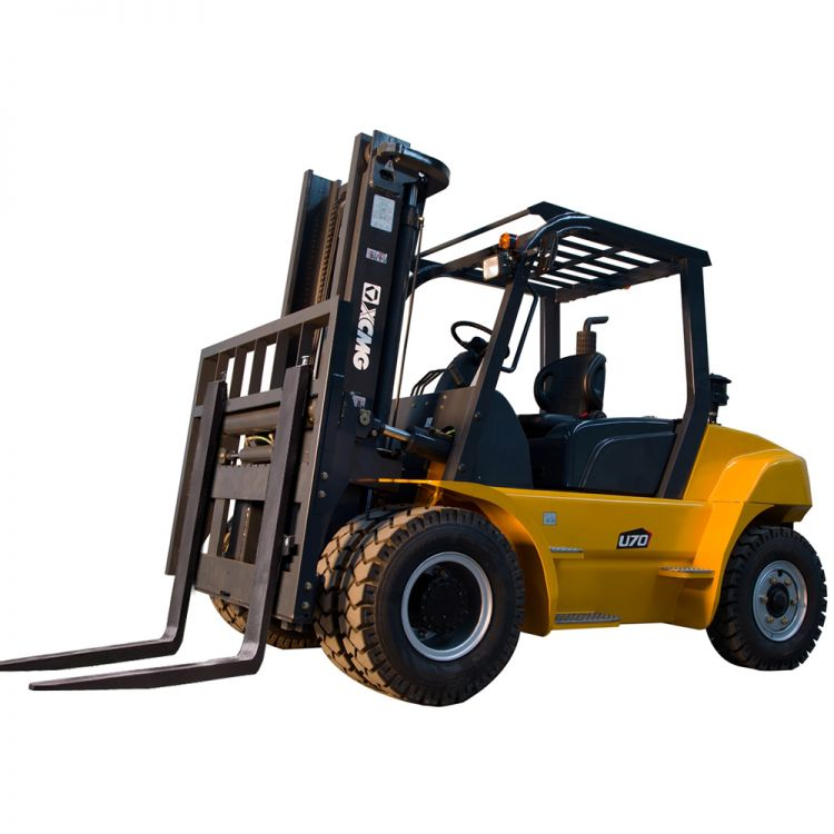 XCMG 5T Diesel Forklift FD50T CUMMINS Diesel Engine with Cabin for sale