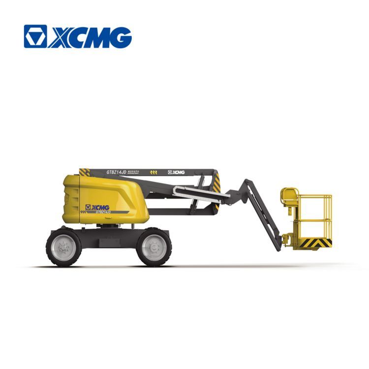 XCMG Official Manufacturer Electrical Articulated Aerial Work Platform GTBZ14JD