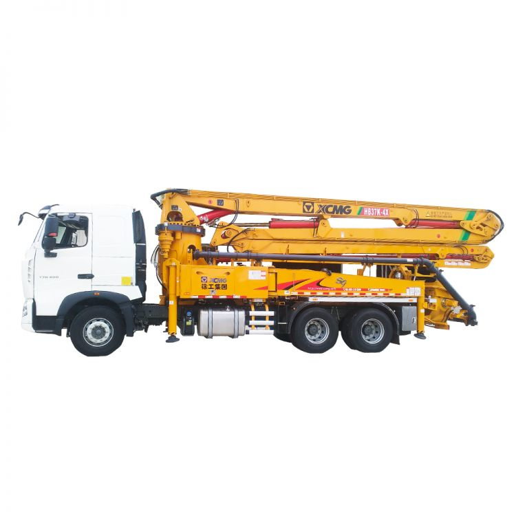 XCMG Official HB37K Truck-mounted Concreted Boom Pumps for sale