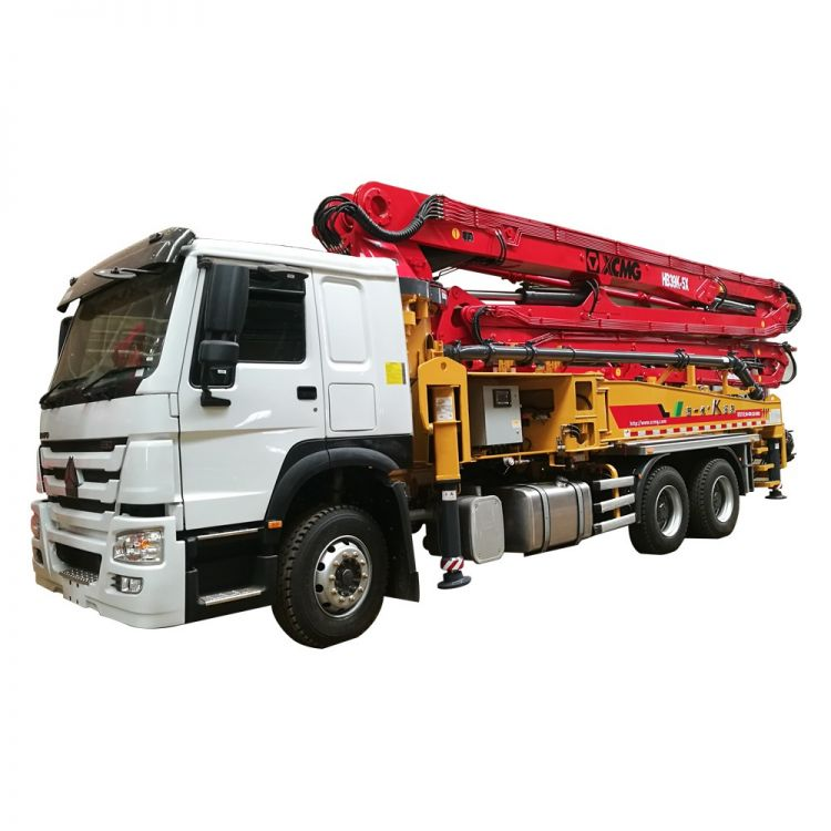 XCMG Official HB39K Truck-mounted Concreted Boom Pumps for sale