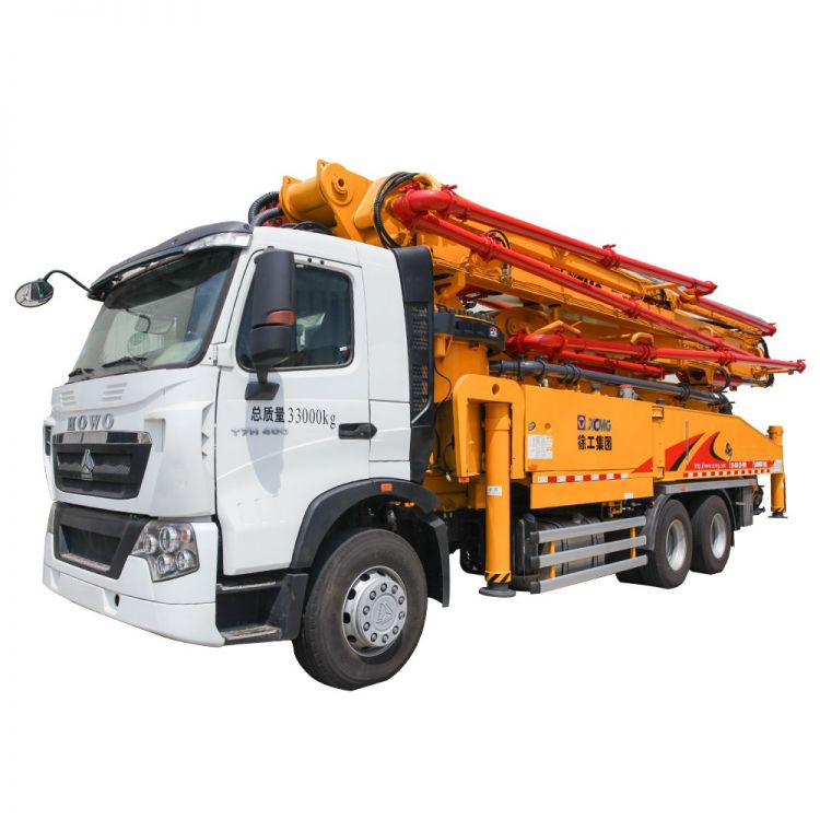XCMG Official HB52K Truck-mounted Concreted Boom Pumps for sale