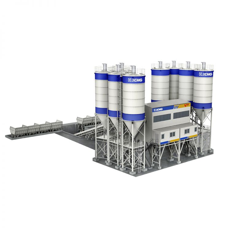 XCMG official HZS180K Commercial concrete batching plant for sale
