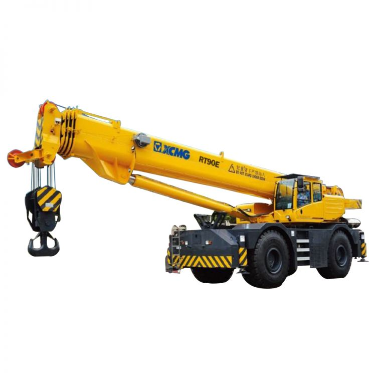 XCMG Official RT90E Rough Terrain Crane for sale