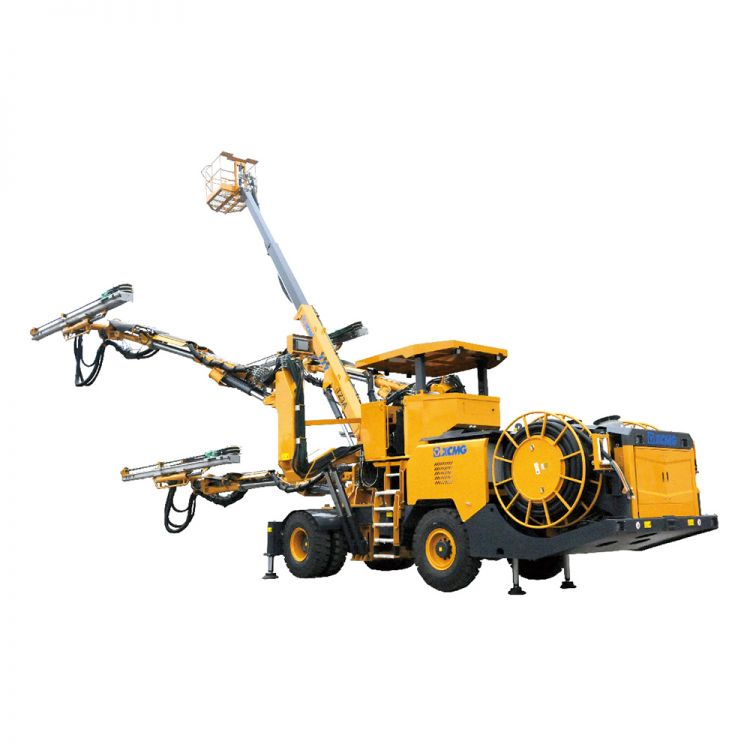 XCMG Official TZ3S Computer-aided three-boom hydraulic pilot drill jambo