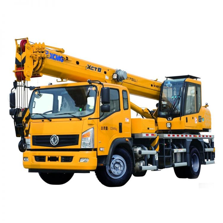 XCMG Official XCT8L4 Truck Crane for sale
