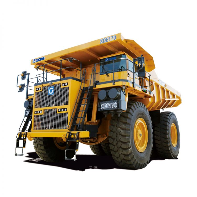 XCMG Official Electric Driver Dump Truck  XDE170 for sale