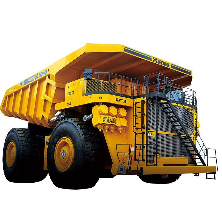 XCMG Official Manufacturer Electric Driver Dump Truck  XDE400 for sale