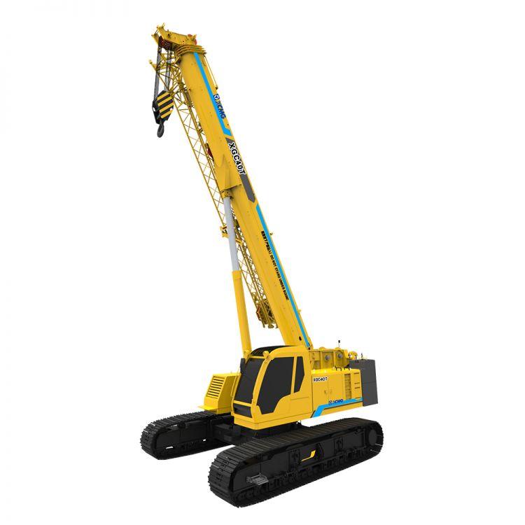 XCMG Official XGC40T Telescopic Crawler Crane for sale