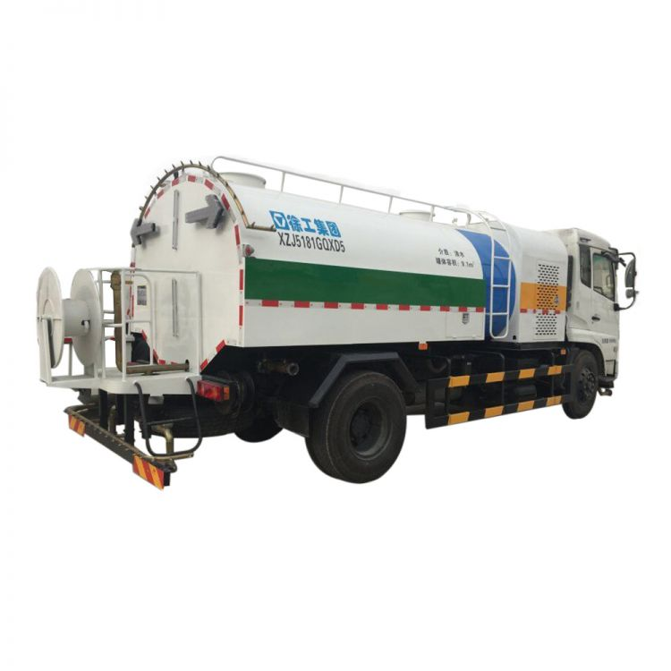 XCMG Official Manufacturer 8 tons Sprinkler Cleaning Truck XZJ5181GQXD5 for sale