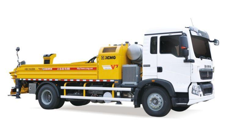 徐工集团HBC10020K车载式混凝土泵