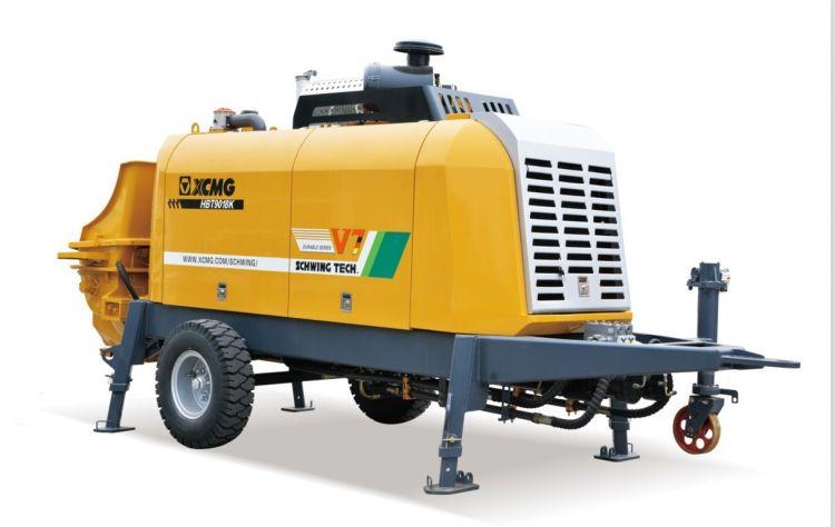徐工集团HBT9018K拖式混凝土泵