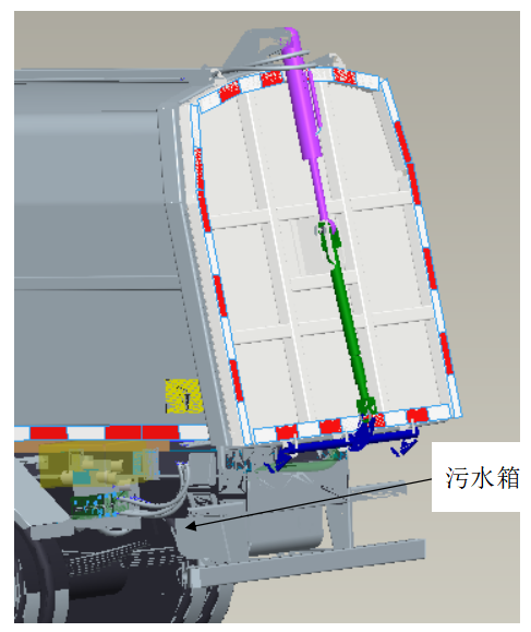 徐工 XZJ5030ZYSA5 压缩式垃圾车