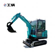 工炳 KS30机械型 小型挖掘机
