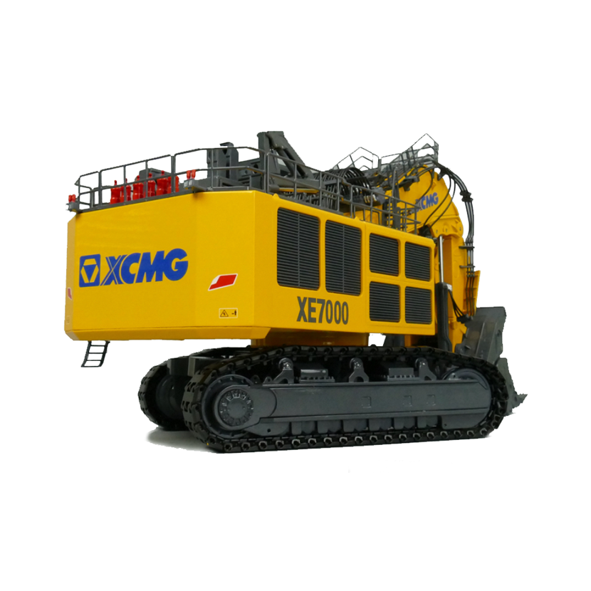 徐工 XE7000履带挖掘机模型 1:50