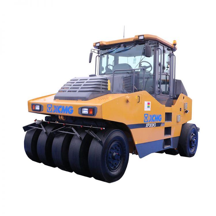 徐工集团XP303KS大吨位轮胎压路机