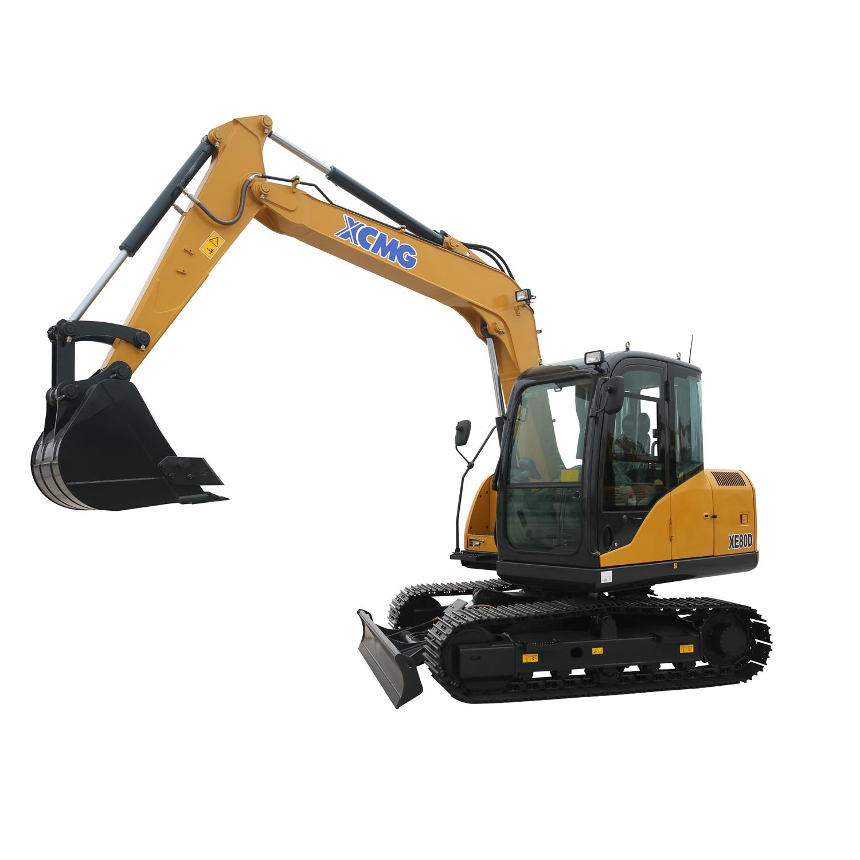 徐工集团XE80D小型液压挖掘机