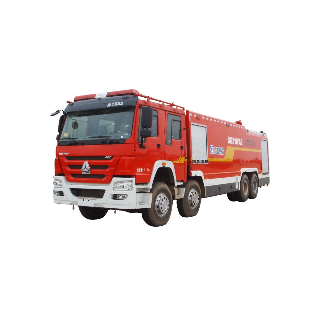 徐工集团SG210A2水罐消防车