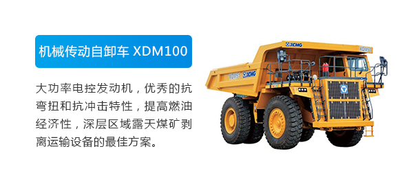 XCMG Official Mechanical Driver Dump Truck XDM91 for sale